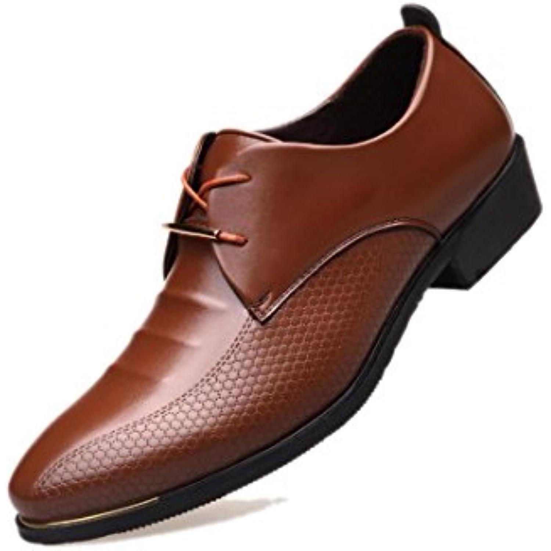 c32d8471abbd2 Chaussures De Ville Antidérapantes pour Hommes, Dentelle, Marron, Noir,  Respirantes, Antidérapantes