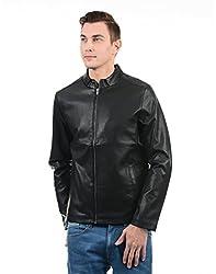 Pepe Jeans Men Solid Jacket(_8907557336564_Black_Medium_)
