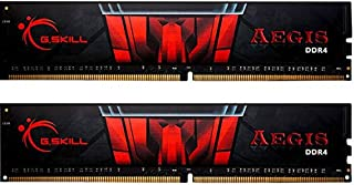 G.Skill AEGIS F4-3000C16D-16GISB Memory 16GB DDR4 ( 2x8GB ) (B01HFR8R2S) | Amazon Products