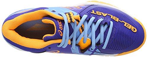 Asics Gel-Blast 6, Scarpe sportive, Donna Deep Blue/Nectarine/Soft Blue 4309
