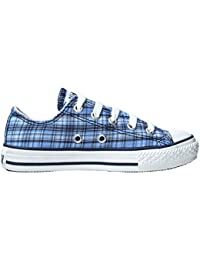 73ff4d91af4dde Converse Chucks EU 29 UK 12 Blau Texas Plaid Kariert - Ox - Flache Sneakers