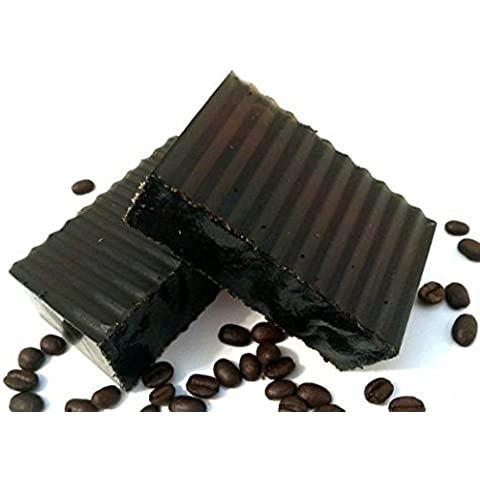 Starbucks Coffee Exfoliating Scrub Soap with Peppermint Scent by Ladybug Company