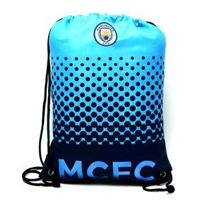 Beutel, Tasche, Turnbeutel mit Kordelzug, Fußball Team, schwimmen (verschiedene Vereine zur Auswahl) Manchester City FC
