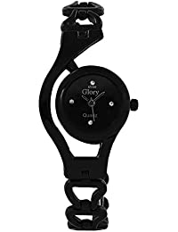 Shree Glory Fancy Black Analog Watch For Women And Gilrs