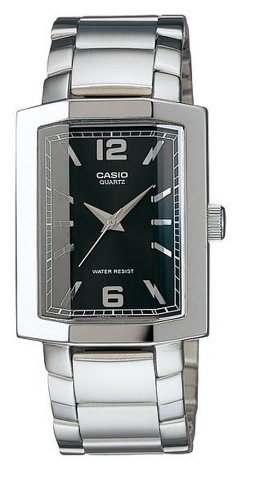 Casio Enticer Analog Black Dial Men's Watch - MTP-1233D-1ADF (A188)