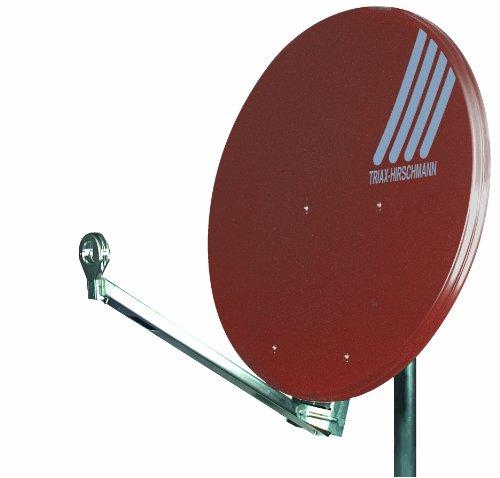 Triax-Hirschman Hit Fesat Satelliten Außenantenne 85cm ziegelrot