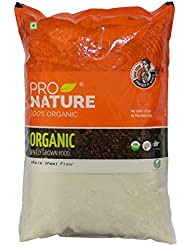 Pro Nature 100% Organic Whole Wheat Flour 5 kg