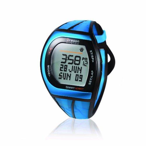 Oregon Scientific SH201 Herzfrequenzmesser mit Alarmfunktion bei Dehydratation (Wassermangel), Blau