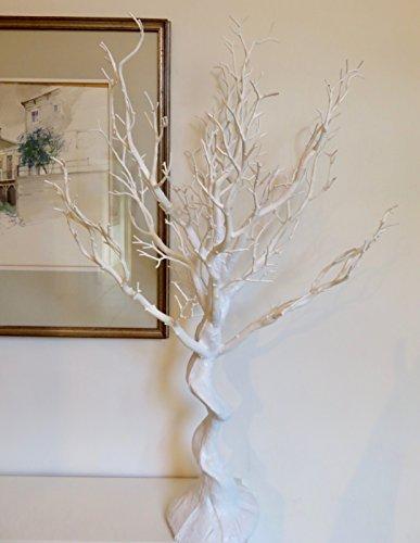 Link Products Albero di manzanita finto bianco per matrimonio. Per interni. Altezza: 77cm