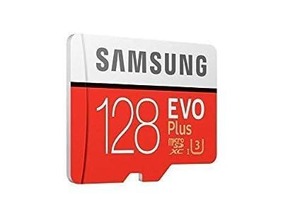 Samsung mb-mc128ga/EU Evo Plus Carte Micro SD de 128Go, uHS-i Classe 10U3, jusqu'à 100Mo/s Vitesse de Lecture 90Mo/s Vitesse d'écriture, Adaptateur SD Inclus par Samsung - Housses , Chargeurs , Kindle & Fire, Etuis , Téléphone Mobile, PC Portable, Tab