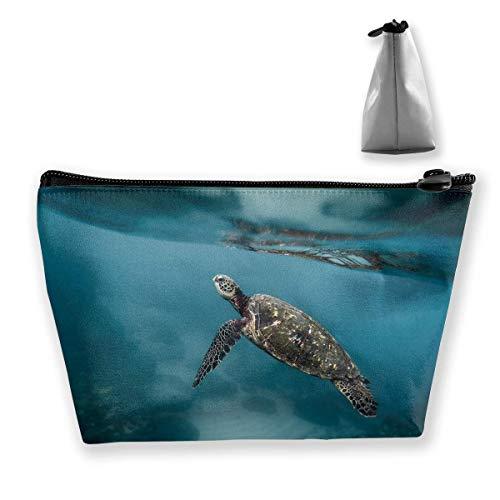 Trapez-Kulturbeutel Tragbare Reisetasche Diving Turtle Pen Organizer (Dodger Gnome)