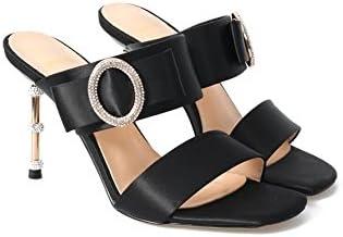 DALL Zapatos de tacón Ly-659 De Moda Punta Abierta Zapatos De Mujer Tacón Fino Tacones Sandalias Primavera Y Verano...