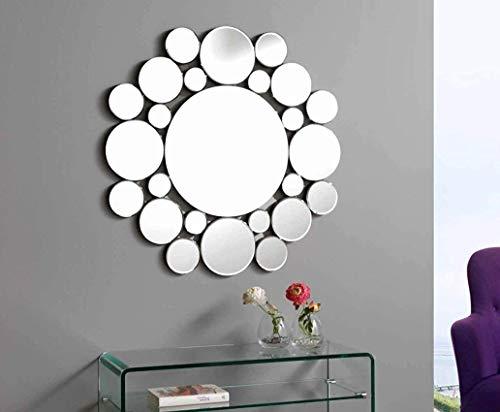 Dugarhome - Espejos Modernos Cristal - Redondo 80X80