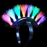 LED FIBRE OPTIC PUNK HAIR STYLE