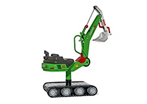 rolly toys 51/320/8 - Excavadora de Metal con Pista de Tanque