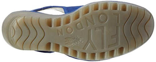 FLY London Yone642fly, Escarpins femme Bleu (Blue 012)