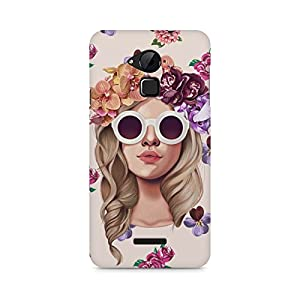 Motivate Box Floral Girl Design, All Side Printed Hard Plastic Phone's Back case/Cover for Coolpad Note 3