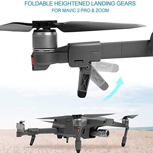TAOtTAO Extended Landing Gear Leg Support Protector-Erweiterung für DJI Mavic 2 Pro/Zoom Kostenlose Schnellwechsel-Klammerhalterung - Support-erweiterung