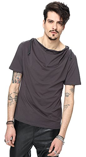 whatlees-mens-urban-basic-short-sleeve-regular-fit-hoodie-with-soft-jersey-b025-darkgray-s