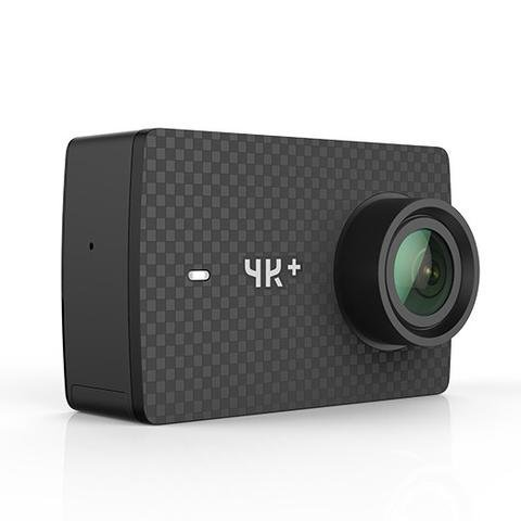 YI 4K+ Action Camera 4K / 60 fps - Videocamera Action Cam 4K Plus, 12 MP, Wifi, Live Streaming, Controllo Vocale (Nero)