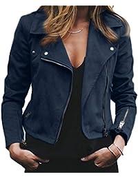 buy online 35597 5b0a8 Amazon.it: Giacca In Ecopelle - Donna: Abbigliamento