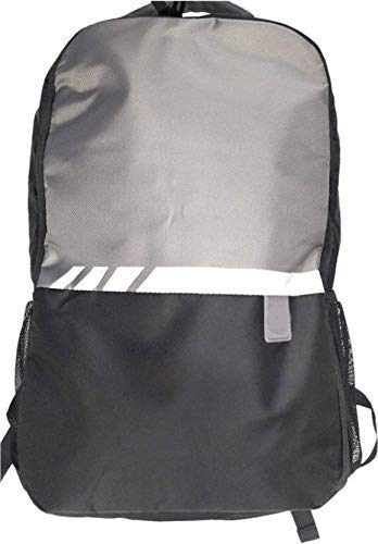 New Libas Collection 15.6 inch Expandable Laptop Backpack Waterproof School Bag (Grey, Black, 25 L)