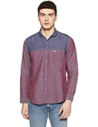 Indigo Nation Street Men's Striped Slim Fit Casual Shirt