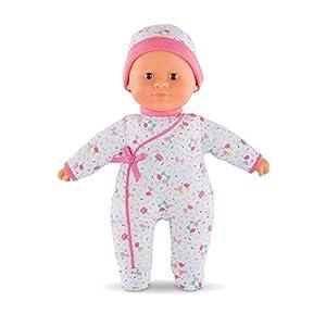 Corolle bebé 30cm, Color Blanco y Rosa (con Sus Dulces Ojos Marrones el muñeco b)