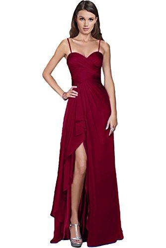 Victory Bridal Damen Glamour Abendkleider Lang Chiffon Brautjungfernkleider Prom/Ballkleider...