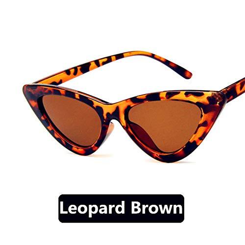 YLNJYJ Damen Katzenaugen -Sonnenbrille Frauen Vintage Sonnenbrille Frau Brille Für Weibliche Uv400 Gafas De Sol Mujer