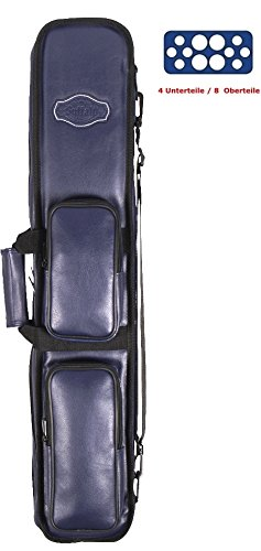 Buffalo Queue-Tasche 4 Unterteile /8 Oberteile Farbe BLAU
