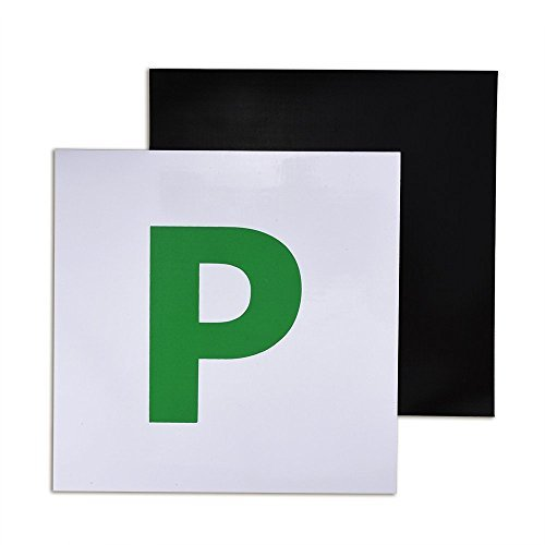 """Pack de 2 placas magnéticas """"L"""" para conductor novel"""