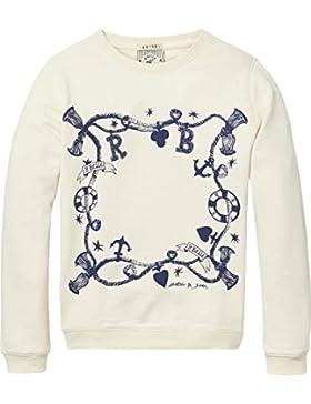 Scotch & Soda R'Belle Mädchen Artwork Crew Neck Sweatshirt