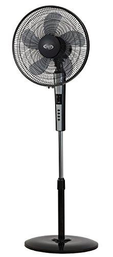 Argoclima Standy - Ventilador de pie, pantalla LED y mando (ABS, 155...