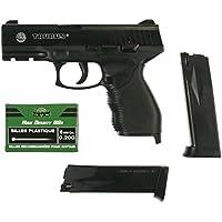 Taurus Softair Pistole PT24/7 (<0,5 Joule) - Arma de airsoft (0,5 julios, 6 mm), color negro