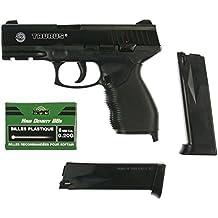 Taurus Softair Pistole Taurus PT24/7 (<0,5 Joule) - Arma de airsoft ( 0,5 julios, 6 mm ), color negro