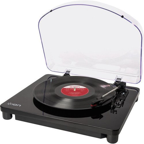 ION Audio Classic LP   Vinyl Plattenspieler / Turntable und USB Digital Encoder - inkl. Converter Software (MAC/PC)