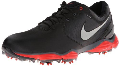 Nike , Scarpe da golf uomo, (Noir/Crimson Rouge), US 9.5 | UK 9 | EU 42