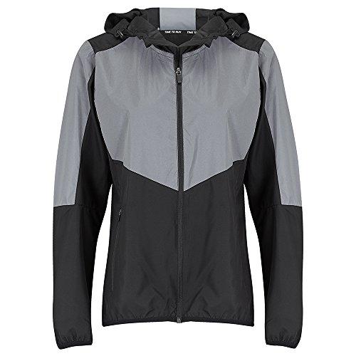 Time To Run Women's Reflective Spirit Windproof Running Jacket