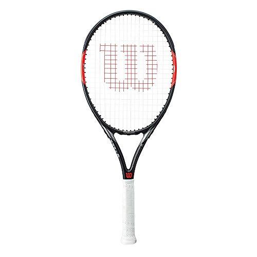 Wilson Raqueta de tenis unisex, Para juego en todas las áreas, Para jugadores aficionados, Federer Team 105, Medida 3, Gris/Rojo, WRT31200U3