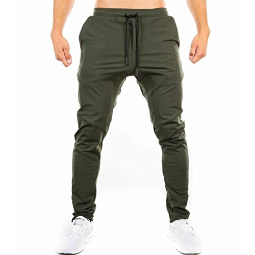 Mens Pants,Clearance Internet Mens Casual Jogging Walking Trousers Slim Fit Plus Size Training Pants Sweatpants Sportwear for Men Gym Fitness Leggings Tracksuit Bottoms