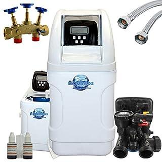 Aquintos Wasseraufbereitung Einzelenthärtungsanlage MKC 24 inkl. Montagelock + 2 Anschlussschäuchen 1