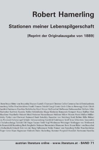 Stationen meiner Lebenspilgerschaft: [Reprint der Originalausgabe von 1889]