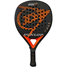 DUNLOP Pala pádel Revolution Carbon Pro 2.0 Orange Rugosa