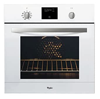 Whirlpool AKZ520WH Four Encastrable Pyrolyse Multifonction Porte Froide Classe: A Blanc