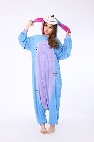 Kigurumi Iaah Eeyore Winnie Puh Kostüm (Kostüme Für Erwachsene Eeyore)