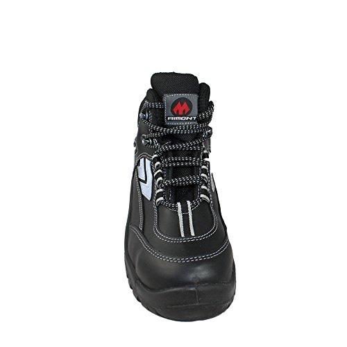 Aimont mistra s3 sRC chaussures berufsschuhe businessschuhe chaussures de trekking (noir) Noir - Noir