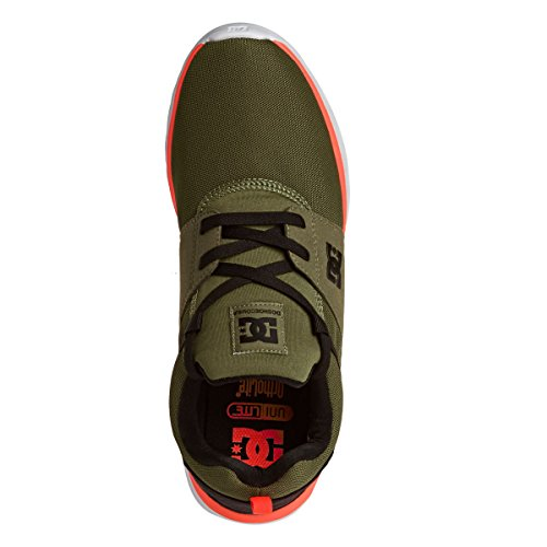 DC Shoes Heathrow M Shoe, Sneakers Basses Hommes olive