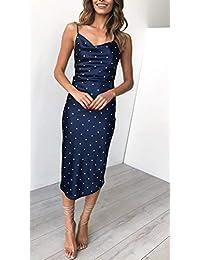 3a6036147d Amazon.es  vestido largo verano - Ajustado   Vestidos   Mujer  Ropa