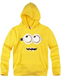 Minions Despicable Me Chicos Sudadera con capucha 2016 Collection - Amarillo